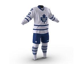 3D model Hockey Clothes Toronto Maple Leafs