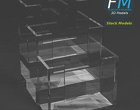3D Acrylic counter display