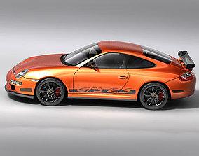 3D model Porsche 911 997 GT3RS