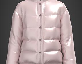 Digital quilted jacket 3D