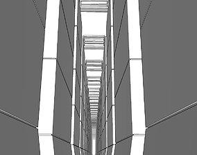 Labyrinth of the megastructure Laberinto de la 3D model 1