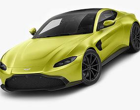 Aston Martin Vantage 2019 3D model