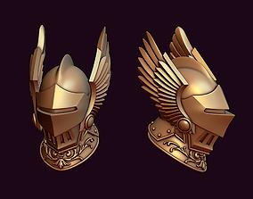 warrior Knight winged helmet 3D printable model