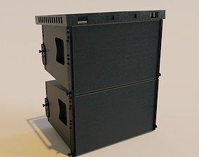 truss system line array 3D asset