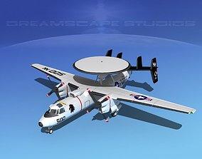 3D Grumman E-2C Hawkeye V04