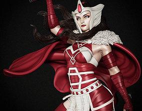 3d 3D print model Thor Lady Sif