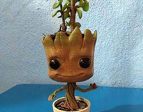 3D print model groot plant pot