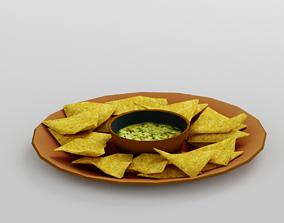 3D asset Tortilla Chips G33