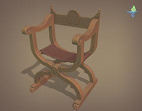 3D model Dantesca Chair