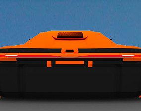 3D model Hypercar Daemon