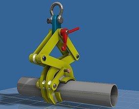 Garra elevacion - Claw 3D model