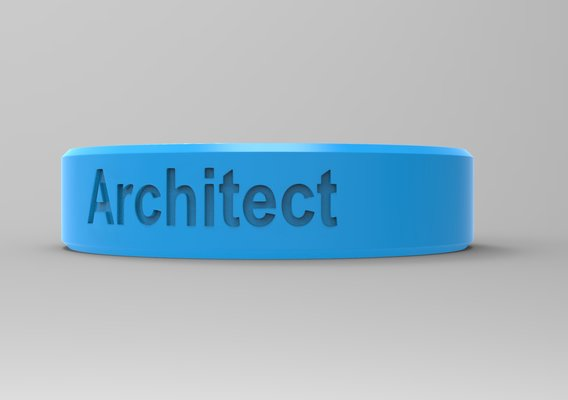 Architect Ring Blue