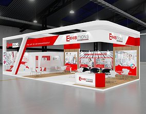 3D model EXHIBITION STAND 13X6