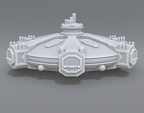 Mother ship 3D print model