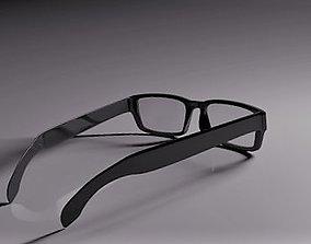 optic 3D model Glasses