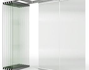 Glass Sliding Partition Walls ritona 3D model