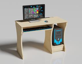 3D asset VR / AR ready Desktop Computer