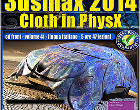 animated 3dsmax 2014 Cloth PhsyX vol 41 cd