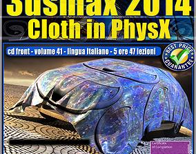 animated 3dsmax 2014 Cloth PhsyX vol 41 cd