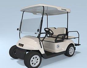 airport Golf Cart 3D model