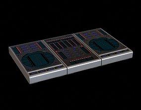 3D model Musical Equipment Dj Turntable
