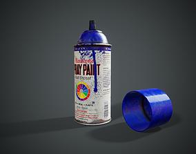 Retro Spray Can - Tutorial Included 3D model