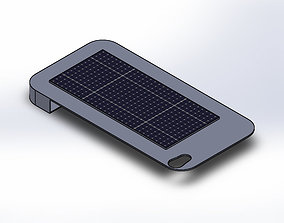 Solar Charger Case iPhone 4s 3D print model