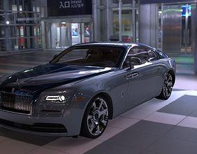 Rolls Royce Wraith 3D model