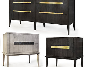 3D model Dresser nightstand by Brownstone Furniture