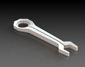 Mechanical Hand Wrench 3D Printed