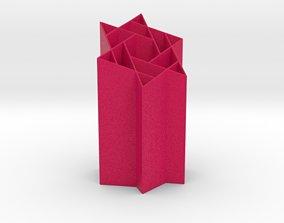 Starry Penholder 3D print model