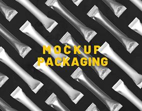 3D model Mockup Packaging 03