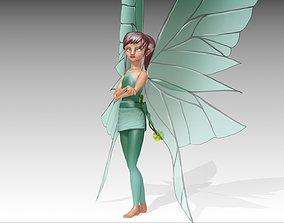 3D asset Fairy