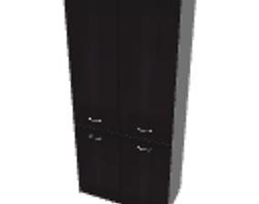 Bookcase 90x198 3D
