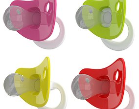 Pacifiers Small Collection 01 3D model