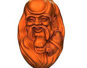 3D printable model Walnut carving