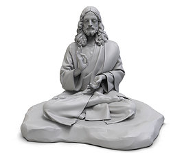 Jesus Buddha 3D printable model