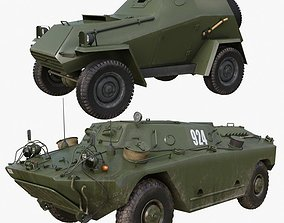 3D model Military Car Collection Mental ray 001