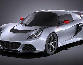Lotus Exige S 2014 VRAY 3D model