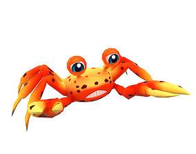 3D model Johnson Fresh Crab Animated Toon