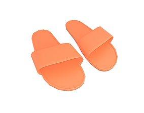 3D model Flip Flops v4 008