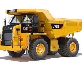 3D photoreal Mining Dump Truck