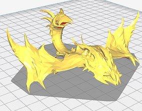 3D print model Dota 2 Viper Character With Immortal Set