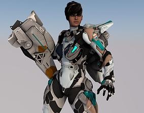 Hestia VR AR Ready For Game 3D asset
