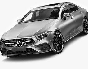 3D model Mercedes-Benz CLS 2018 AMG line