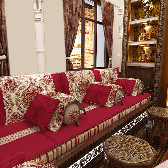 Yemeni Divan (living room)- Sana'a