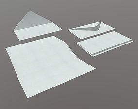 Envelope Pack 3D asset