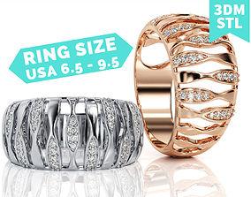 3D printable model Fashion Ring R F 0035