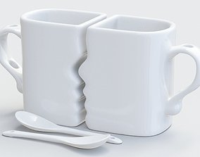 Mugs for lovers 3D printing