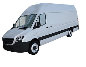 MERCEDES Sprinter Freightliner panel van 3D